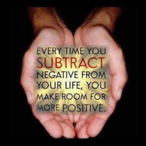 subtract the negative