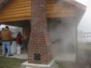 Dave's sugar camp
