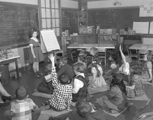 back to school 1950