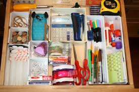 my junk drawer never looks like this, even after I clean it!