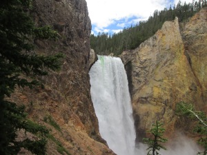 Lower Falls at the Grand Canyon of Yellowstone
